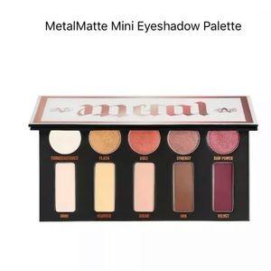 BNIB Kat Von D Metal Matte Mini Eyeshadow Palette